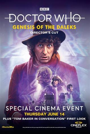 Cineplex: Genesis of the Daleks (14 Jun 2018) (Credit: Cineplex, BBC Worldwide)