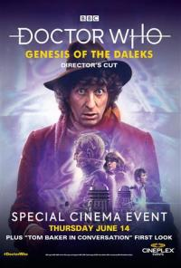 Cineplex: Genesis of the Daleks (14 Jun 2018) (Credit: Cineplex, BBC Worldwide)
