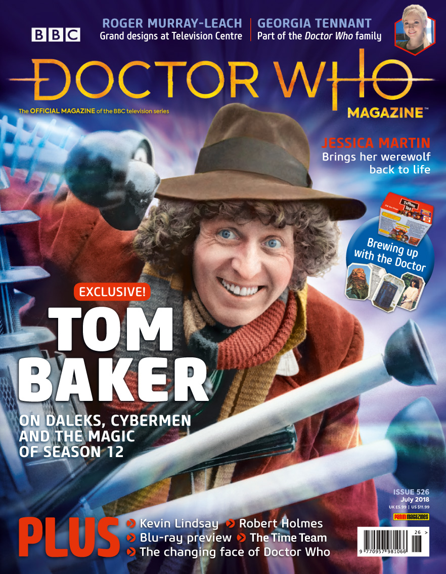 Doctor Who Magazine issue 526 (Credit: Panini)