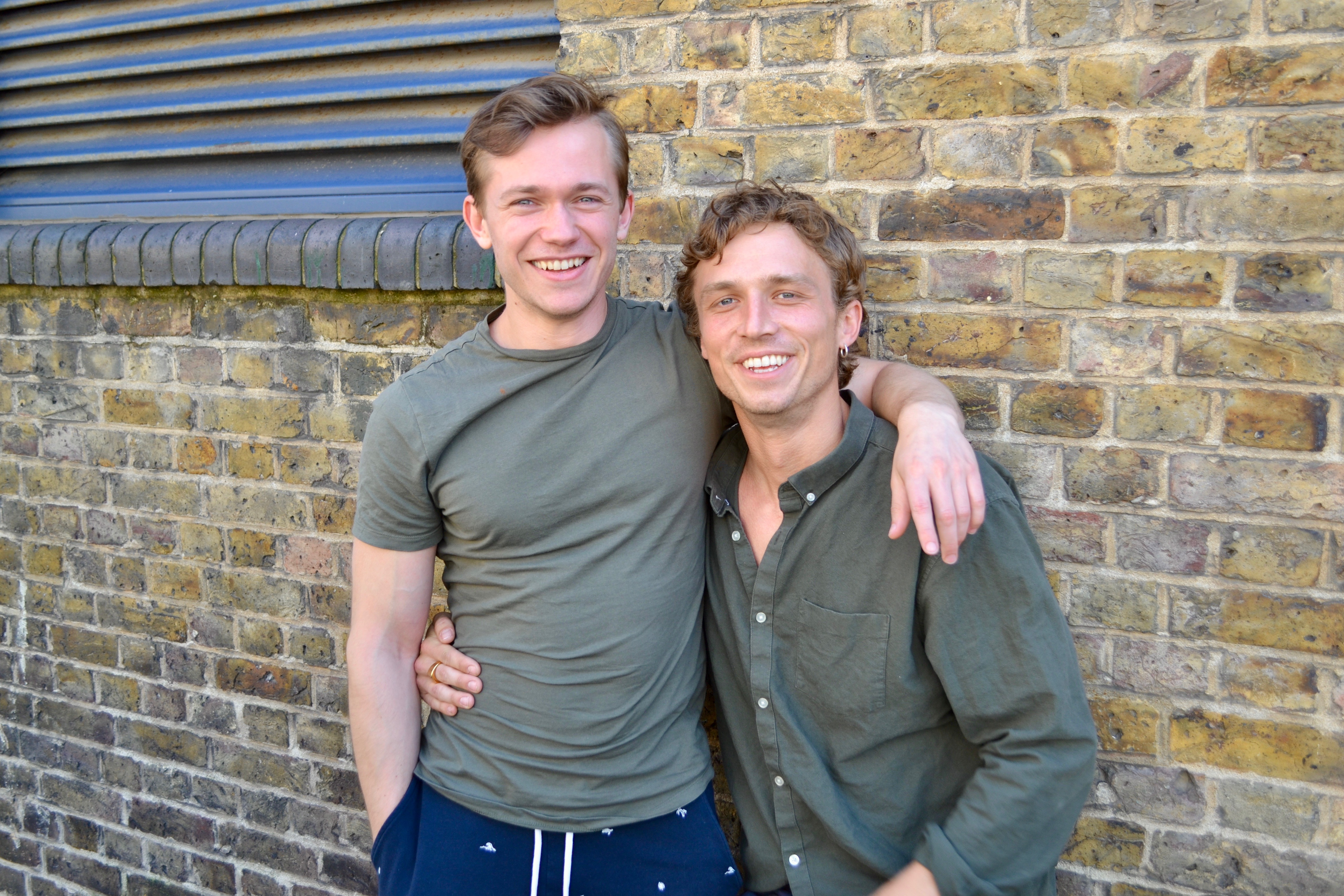Jordan Renzo (Matteusz Andrzejewski), Greg Austin (Charlie Smith) (Credit: Big Finish)