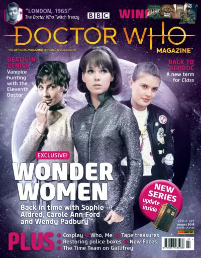 Doctor Who Magazine 527  (Credit: Panini)