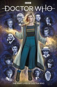 Many Lives of the Doctor - Cover A (Credit: Titan )