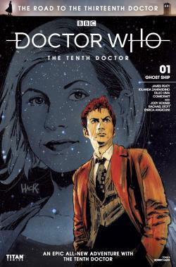 The Road to the Thirteenth Doctor: The Tenth Doctor - Cover A (Credit: Titan )
