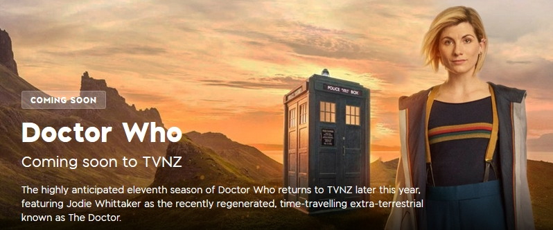 TVNZ to air Jodie Whittaker series (Credit: TVNZ)