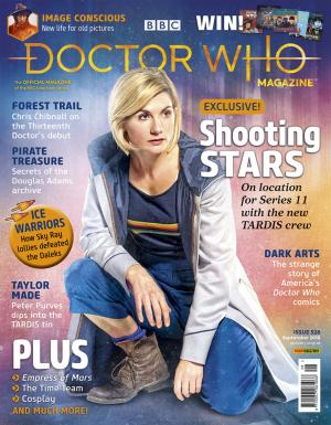 Doctor Who Magazine 528 (Credit: Doctor Who Magazine)