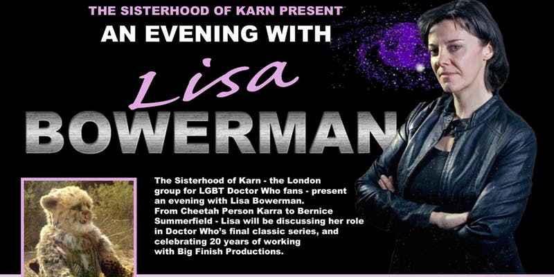 An Evening With Lisa Bowerman