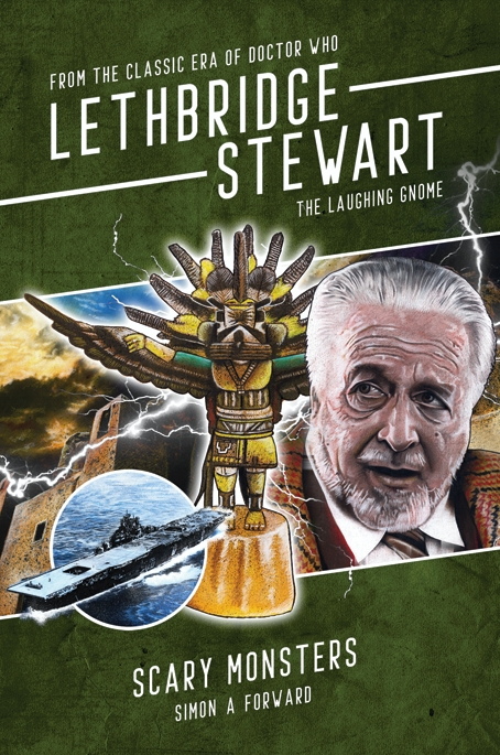 Lethbridge-Stewart: Scary Monsters (Credit: Candy Jar Books)