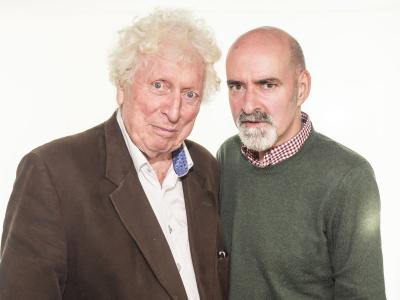 Tom Baker, Nicholas Briggs (Credit: Big Finish)