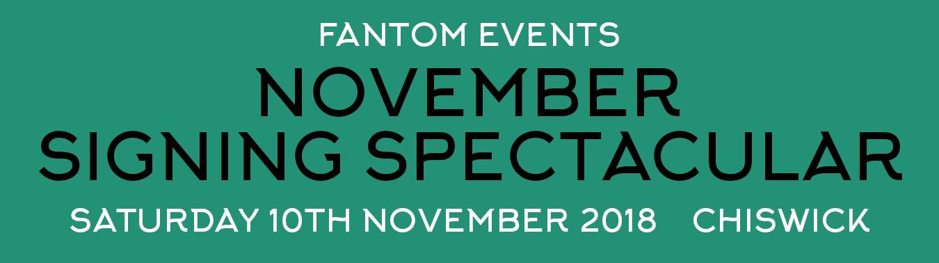 November Signing Spectacular