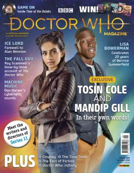 Doctor Who Magazine: Issue 529 (Credit: Panini)
