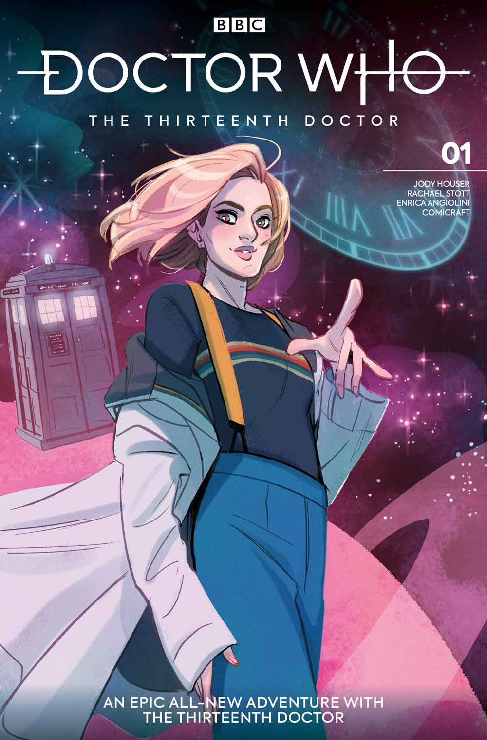 Thirteenth Doctor #1 - Cover A - Babs Tarr (Credit: Titan )