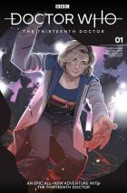 Thirteenth Doctor #1 - Cover D - Rachael Stott (Credit: Titan )
