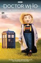 Thirteenth Doctor #1 - Cover J - Doctor Puppet (Credit: Titan )