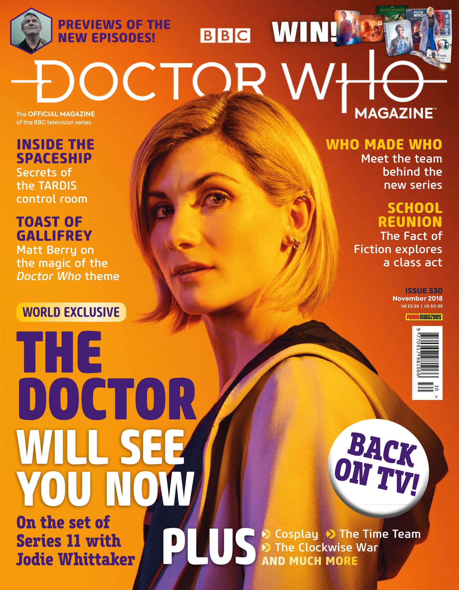 Doctor Who Magazine 530  (Credit: Panini)