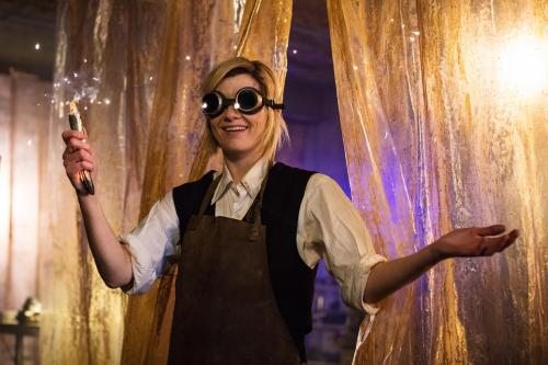 The Woman Who Fell to Earth: The Doctor (Jodie Whittaker) (Credit: BBC/BBC Worldwide (Sophie Mutevilian ))