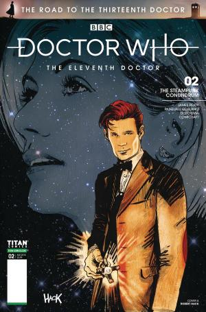 Road to the Thirteenth Doctor - Eleventh Doctor (Credit: Titan)