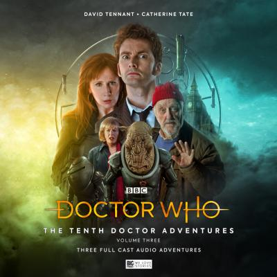 Tenth Doctor Adventures Volume Three (Credit: Big Finish)