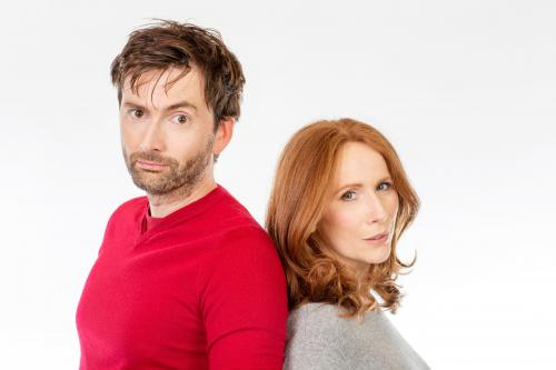 David Tennant, Catherine Tate (Credit: Big Finish)