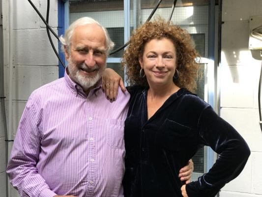 Christopher Benjamin / Alex Kingston (Credit: Big Finish)