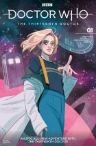 Doctor Who: Thirteenth Doctor #1 - Cover A - Babs Tarr (Credit: Titan )