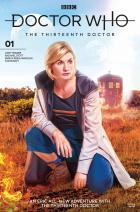 Doctor Who: Thirteenth Doctor #1 - Cover B (Credit: Titan )