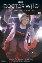 Doctor Who: Thirteenth Doctor #1 - Cover D - Rachael Stott (Credit: Titan )