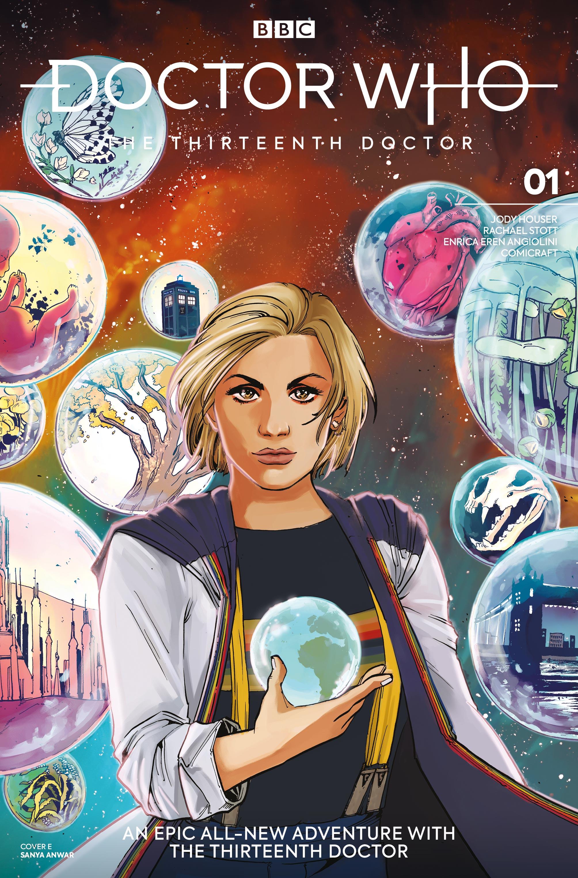 Doctor Who: Thirteenth Doctor #1 - Sanya Anwar (Credit: Titan )