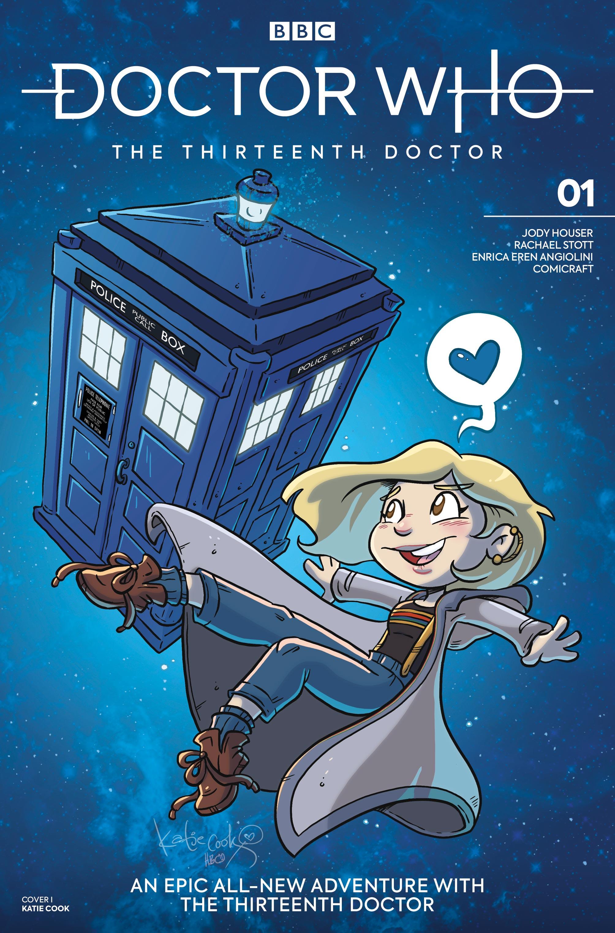Doctor Who: Thirteenth Doctor #1 - Katie Cook (Credit: Titan )