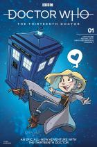 Doctor Who: Thirteenth Doctor #1 - Katie Cook (Credit: Titan )