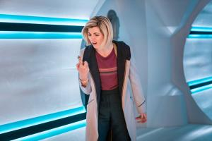 The Tsuranga Conundrum: The Doctor (Jodie Whittaker) (Credit: BBC Studios (Ben Blackall))