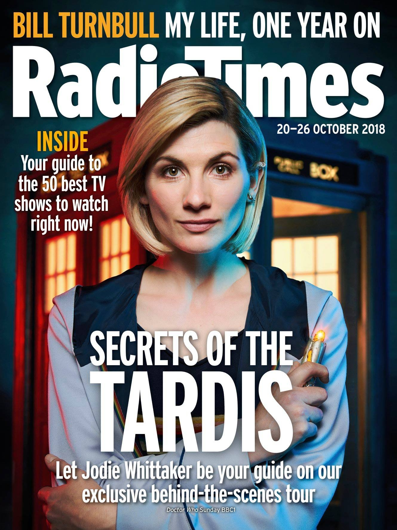 Radio Times (20-27 Oct 2018) (Credit: Immediate)