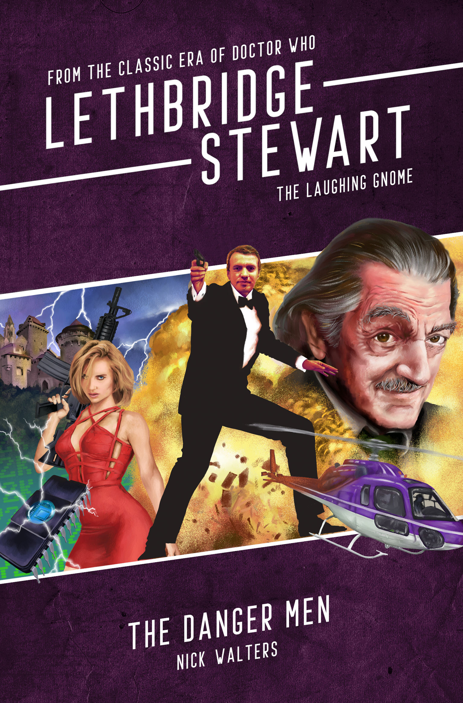 Lethbridge-Stewart: The Laughing Gnome: The Danger Men (Credit: Candy Jar Books)