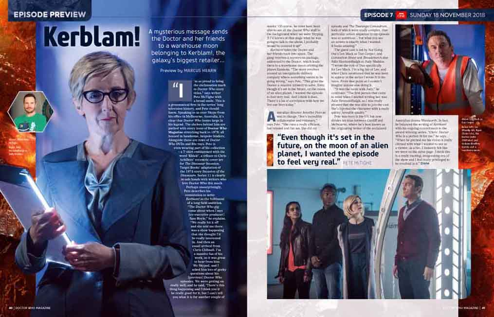 Doctor Who Magazine: Issue 532 (Credit: Panini)