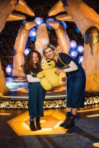 Children in Need 2018: Anna with the Doctor! (Credit: BBC/Sophie Mutevelian)