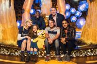 Children in Need 2018: Anna and Alex with Team TARDIS (Credit: BBC/Sophie Mutevelian)