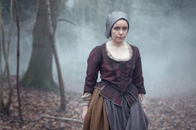 The Witchfinders: Willa Twiston (Tilly Steele) (Credit: BBC Studios (Ben Blackall))