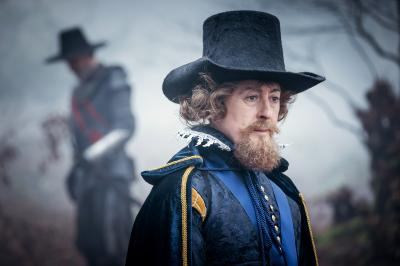 The Witchfinders: King James (Alan Cumming) (Credit: BBC Studios (Ben Blackall))