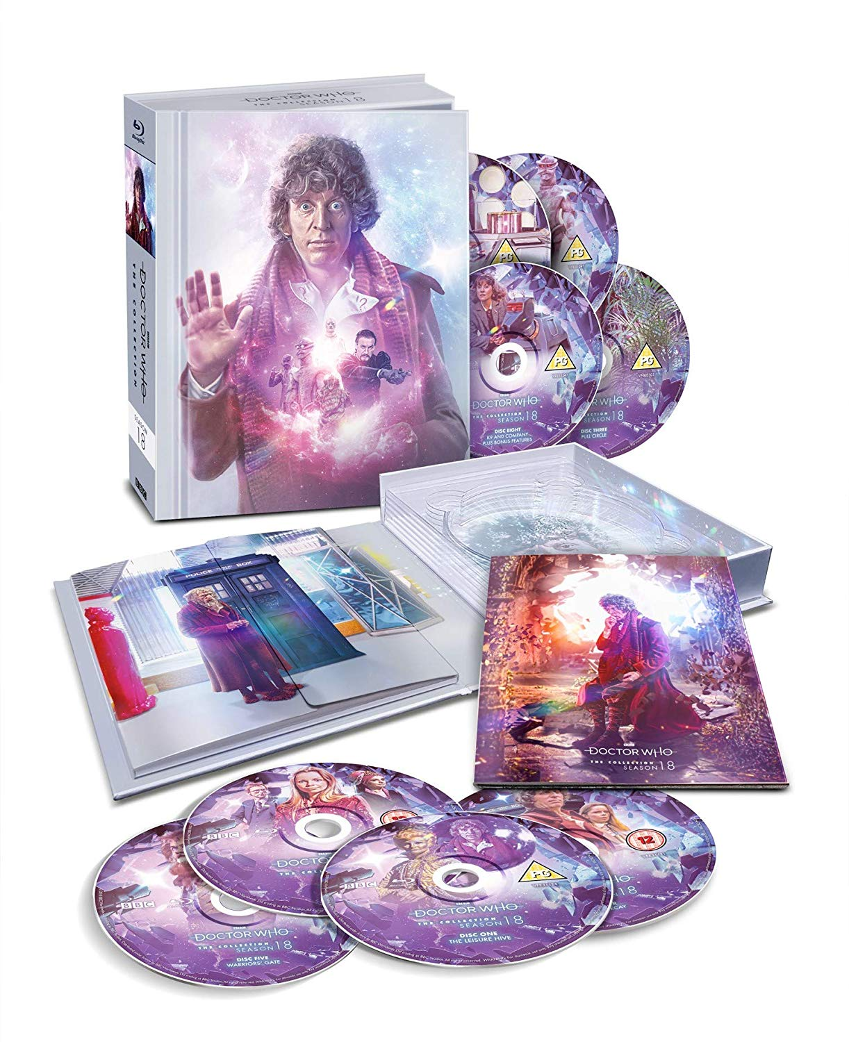 Doctor Who: The Complete Eighteen Season (box contents) (Credit: BBC)