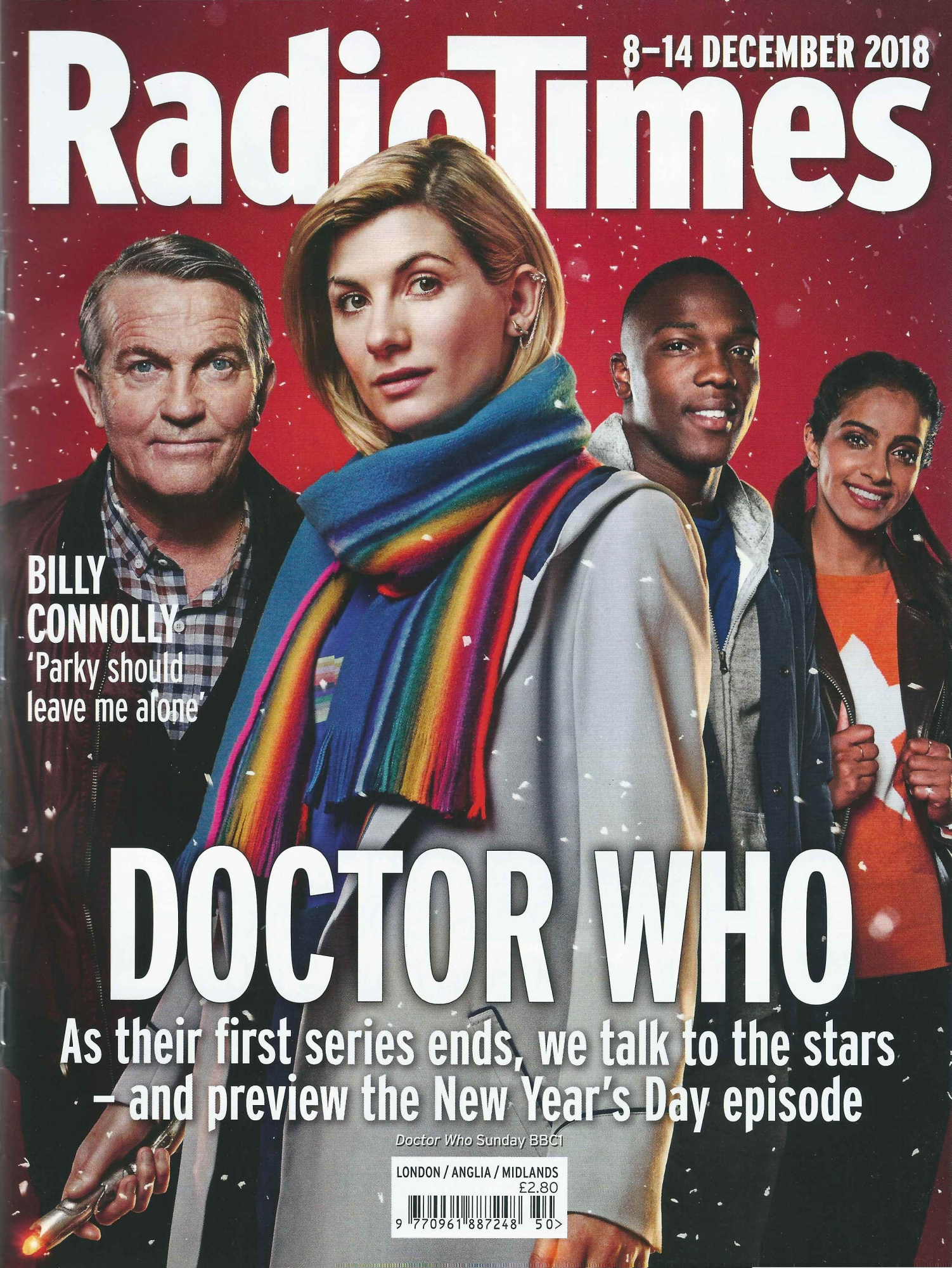Radio Times, 8-14 Dec 2018 (Credit: Radio Times)