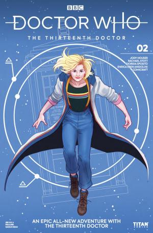 Thirteenth Doctor #3 - Cover A (Credit: Titan )