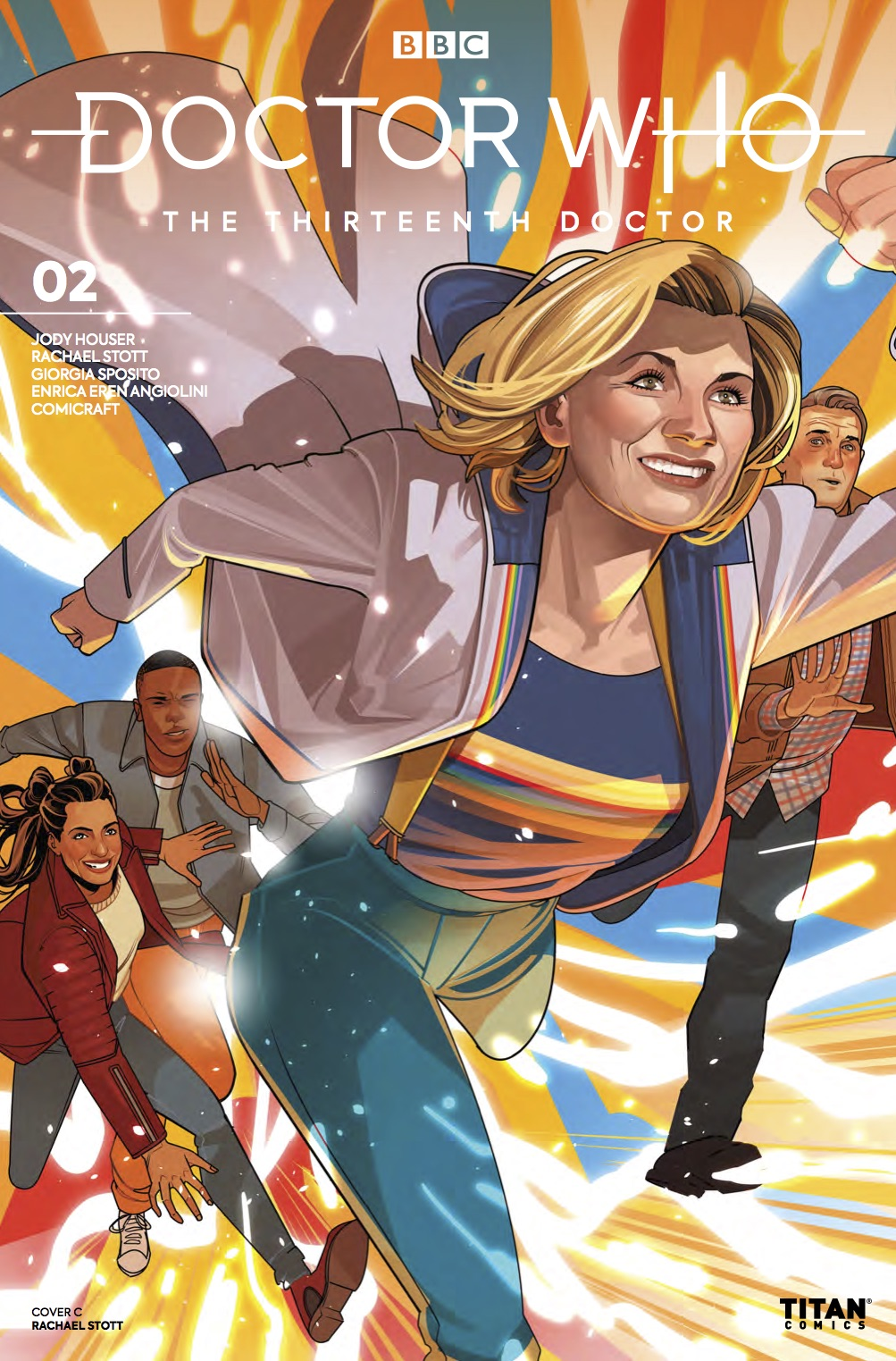 Thirteenth Doctor #3 - Cover C (Credit: Titan )