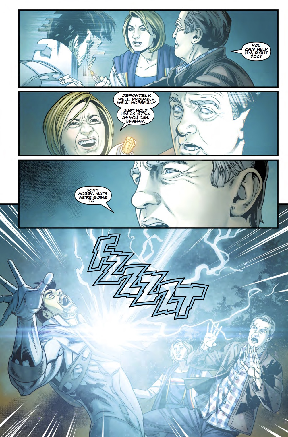 Thirteenth Doctor #3 Preview 3 (Credit: Titan )