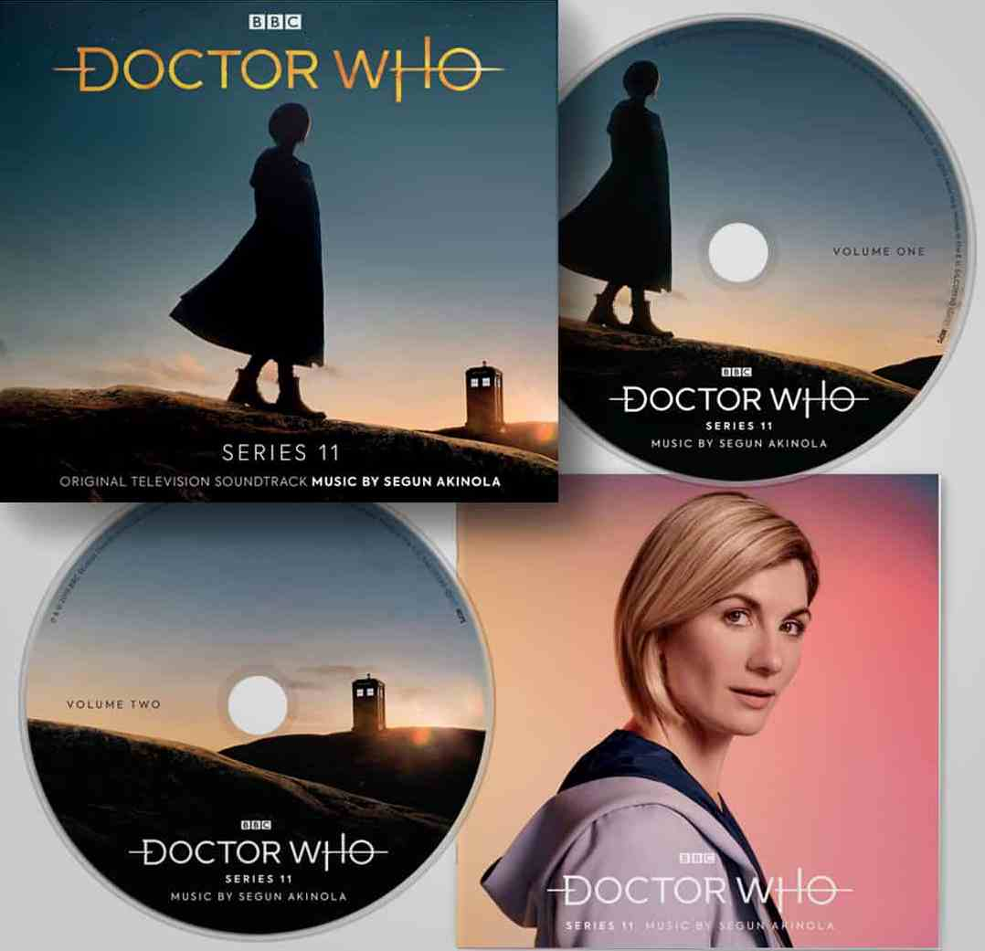 >Doctor Who Series 11 Soundtrack (Credit: Silva Screen)
