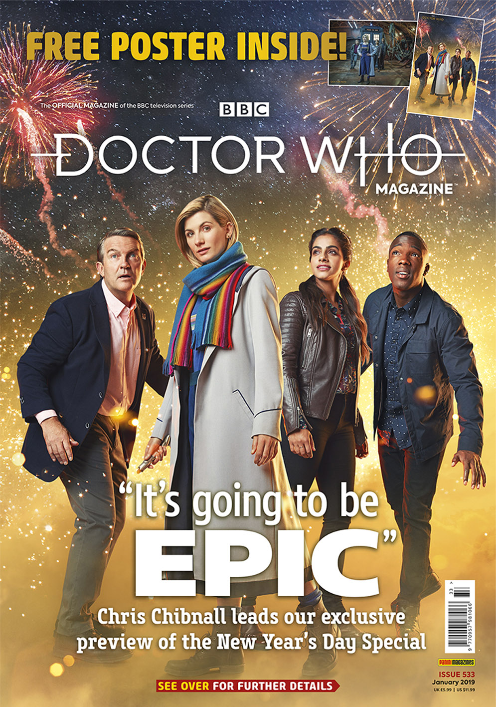 Doctor Who Magazine: 533 (Credit: Panini)