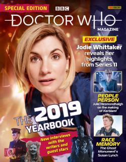 Doctor Who Magazine - The 2019 Yearbook (Credit: Panini)