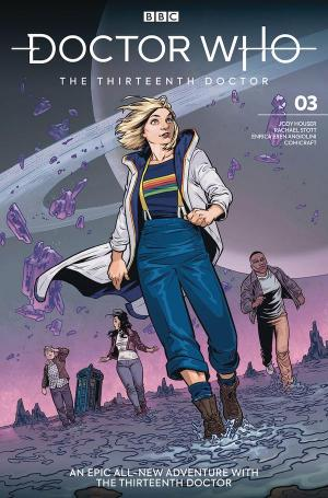 The Thirteenth Doctor - Issue #3 (Credit: Titan)
