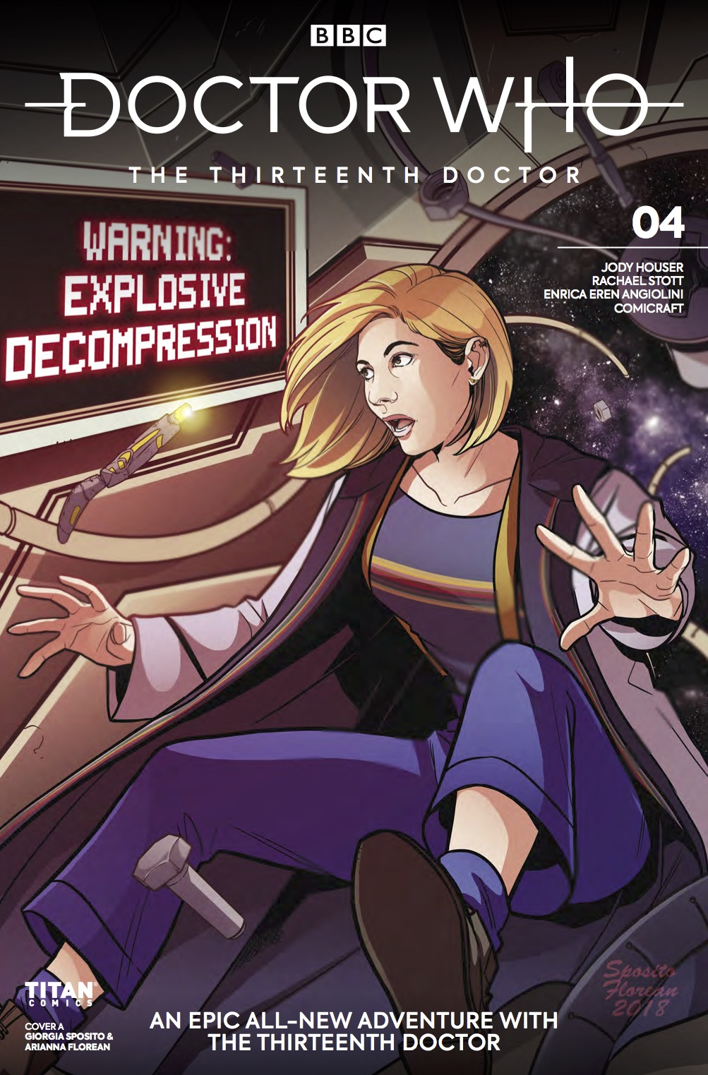 Doctor Who: Thirteenth Doctor #4 - Cover A (Credit: Titan )