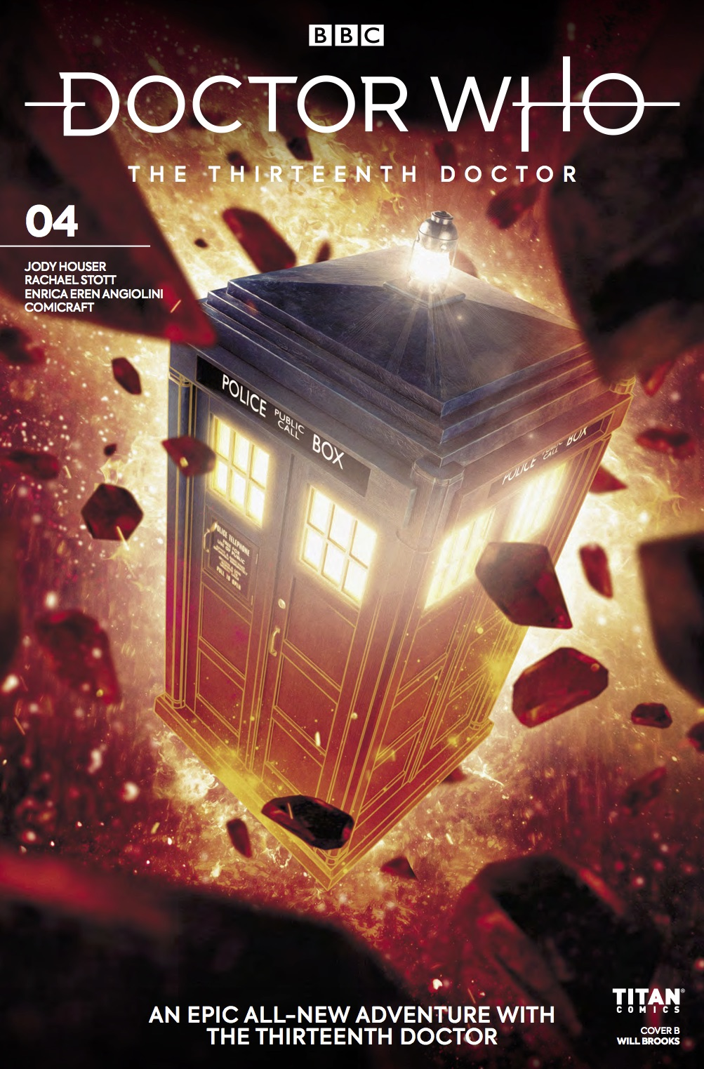 Doctor Who: Thirteenth Doctor #4 - Cover B (Credit: Titan )