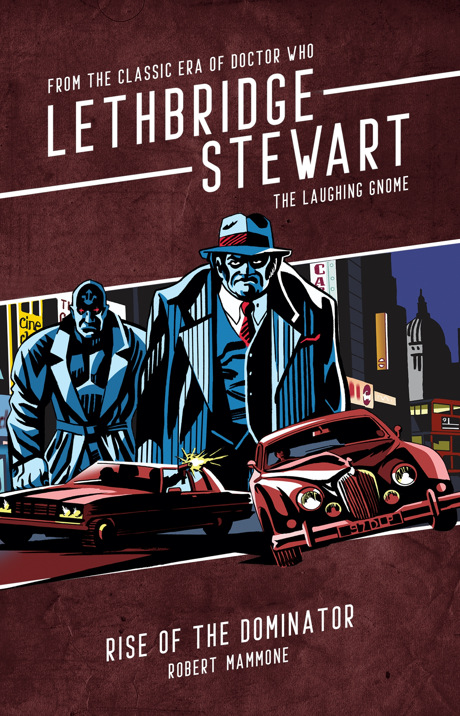 Lethbridge-Stewart: The Laughing Gnome: Rise of the Dominator (Credit: Candy Jar Books)
