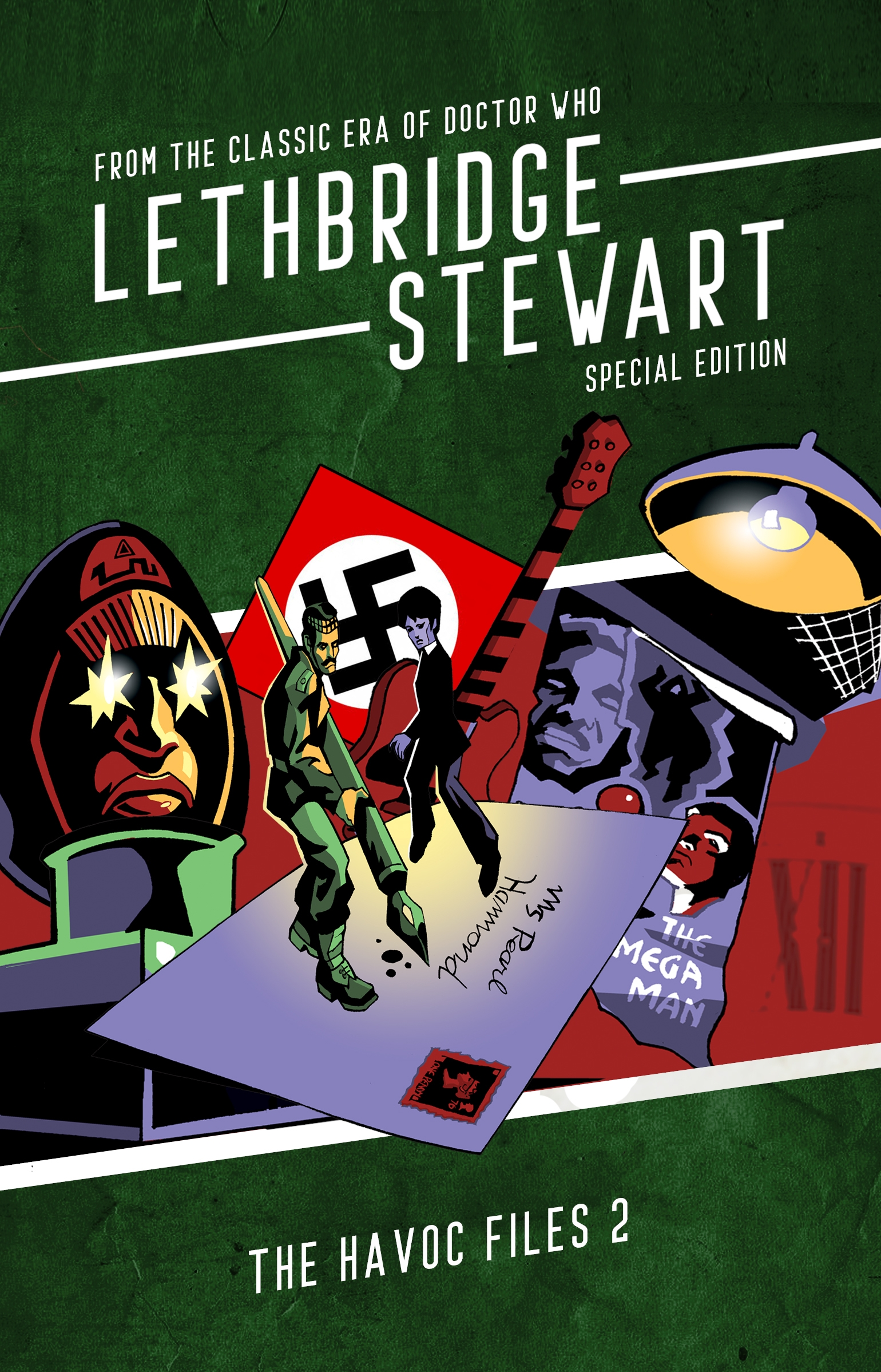 Lethbridge-Stewart: The HAVOC Files 2 Special Edition (Credit: Candy Jar Books)
